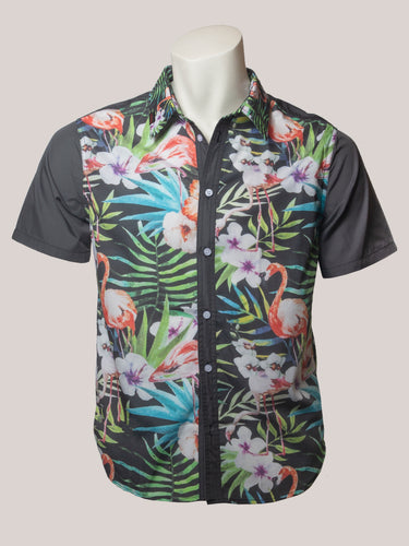 BADD Flower Print Men's Button-Up