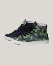 Load image into Gallery viewer, BADD Men's Marijuana Print High Top Sneakers