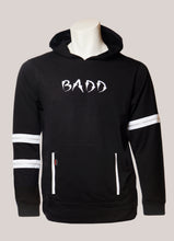 Load image into Gallery viewer, BADD Logo Men's Lightweight Zipper Hoodie Black