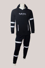 Load image into Gallery viewer, BADD Logo Men's Zipper Sweatsuit Black