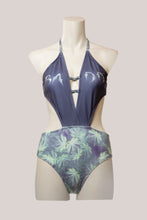 Load image into Gallery viewer, BADD Marijuana Print One Piece Swimsuit