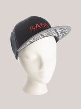 Load image into Gallery viewer, BADD Skull Snapback Black/Grey