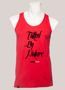 TATTED BY NATURE Men's Tattoo Tank