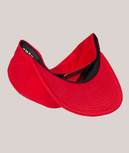 Load image into Gallery viewer, BADD Snapback Hat Red-Black Logo