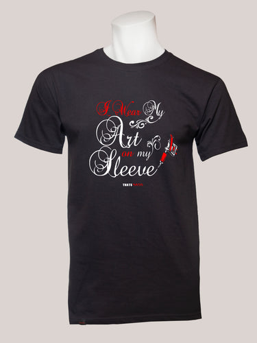 ART ON MY SLEEVE Men's Tattoo T-Shirt