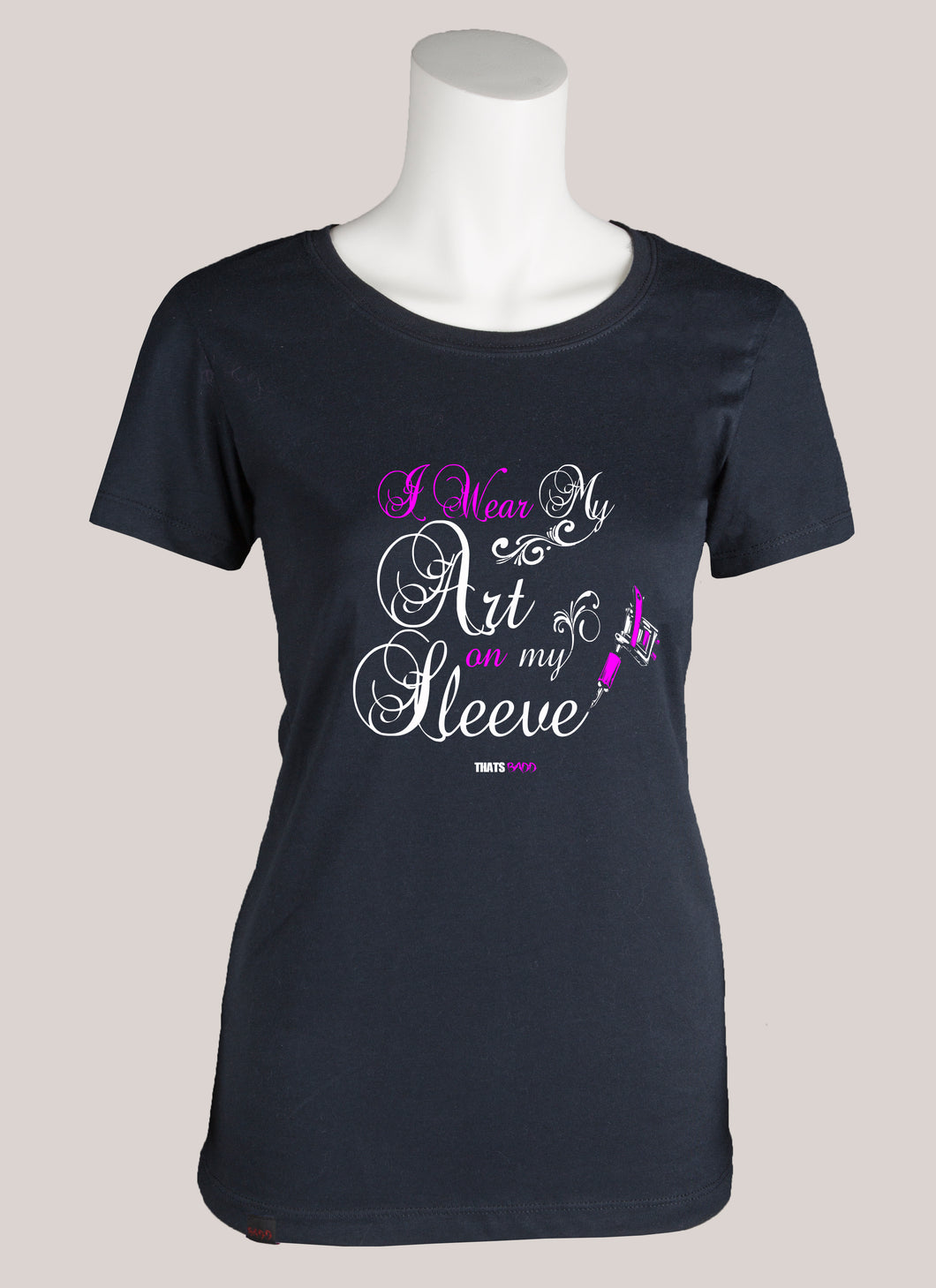 ART ON MY SLEEVE Women's Tattoo T-Shirt