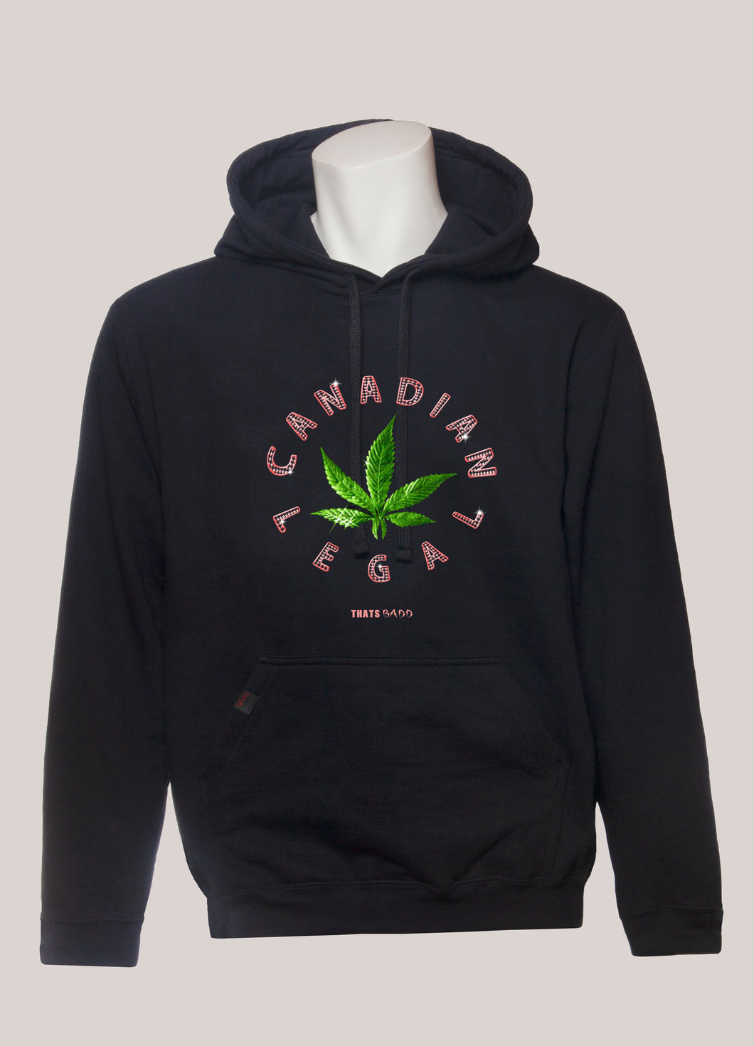 CANADIAN LEGAL Men's Marijuana Hoodie