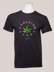 CANADIAN LEGAL Men's Marijuana T-Shirt