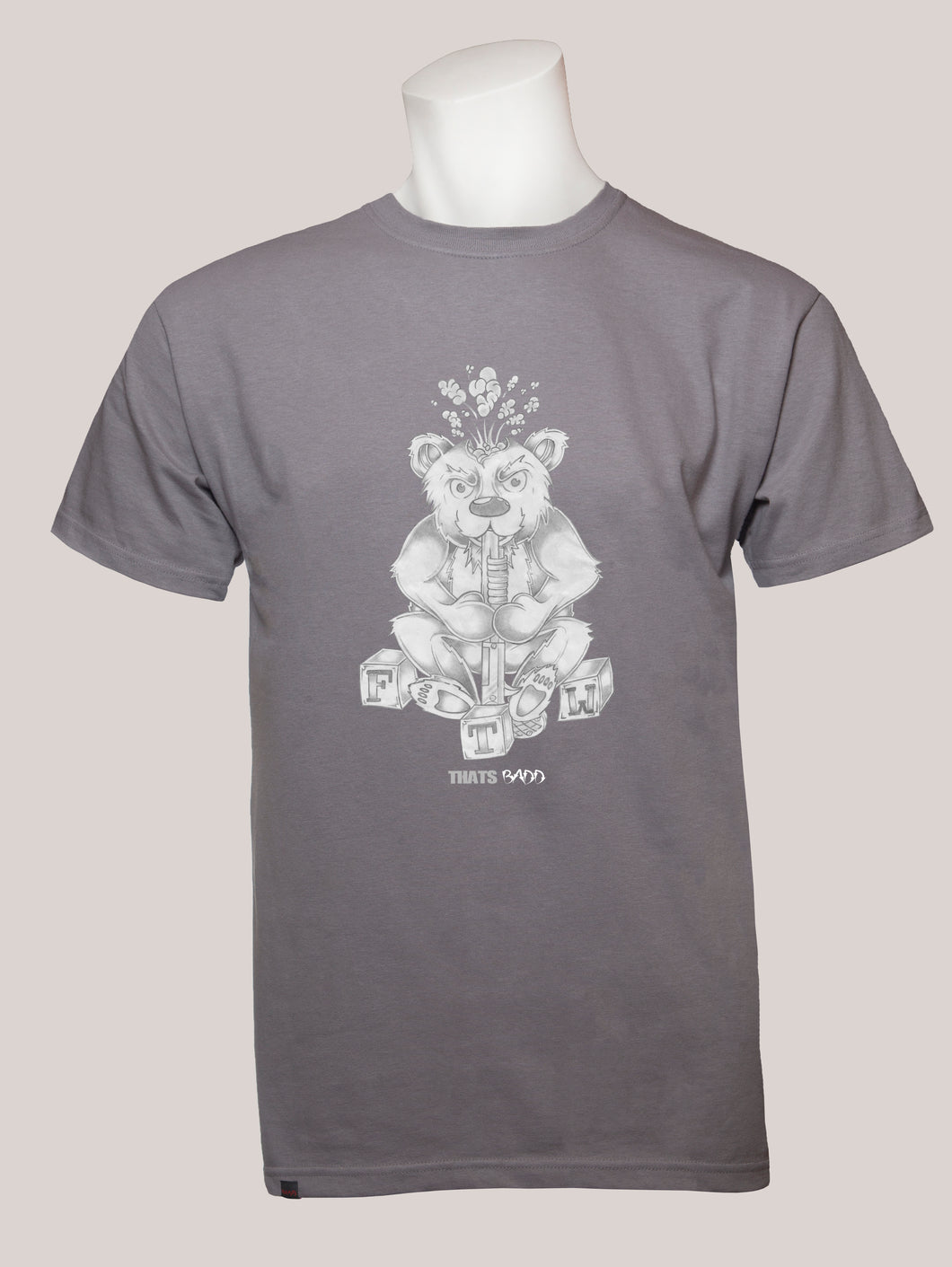 FTW BEAR Men's T-Shirt Grey