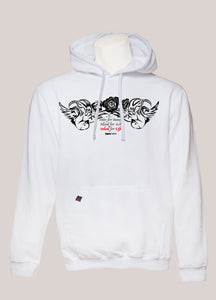 INKED FOR LIFE Men's Tattoo Hoodie