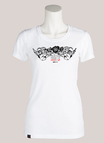 INKED FOR LIFE Women's Tattoo T-Shirt