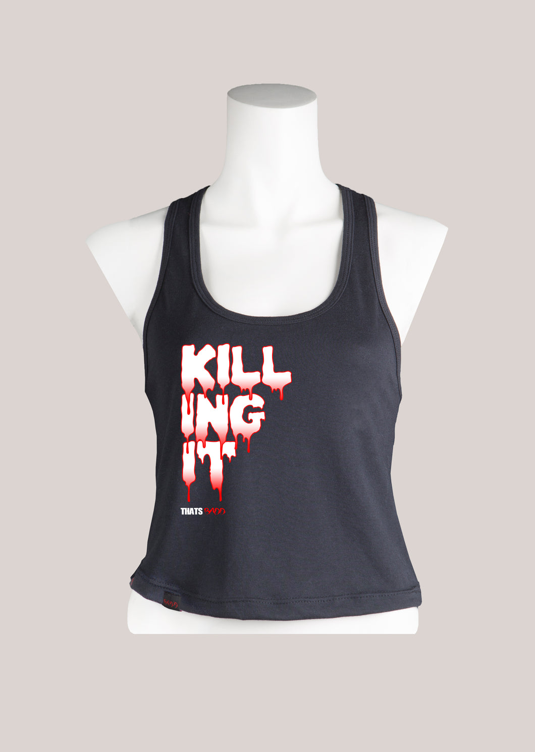 KILLING IT Women's Cropped Tank