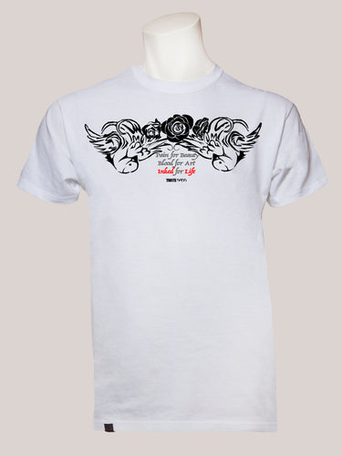 INKED FOR LIFE Men's Tattoo T-Shirt
