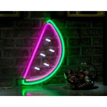 Yummy Watermelon Neon Sign By Stella and Bobbie - Stella and Bobbie