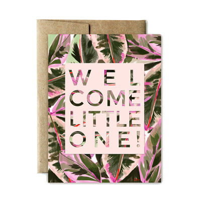 Welcome Little One! Card - Stella and Bobbie