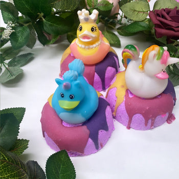 QBkids Bath Bomb- Princess Ducky