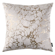 Load image into Gallery viewer, Rose Gold Marble Cushion