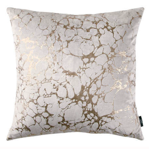 Rose Gold Marble Cushion