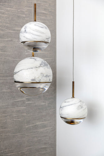 Marble Ceiling Pendants