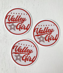 Roanoke Valley Girl Sticker