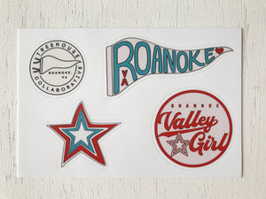 Roanoke Sticker Pack
