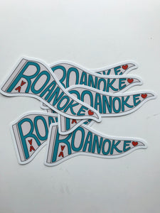 Large Roanoke Sticker