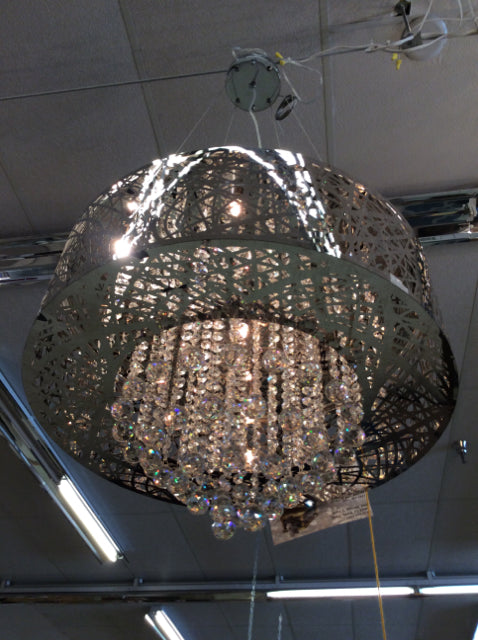 Chandelier Crystal And Chrome