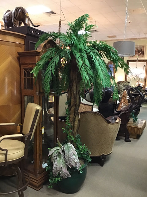 Faux Palm Tree