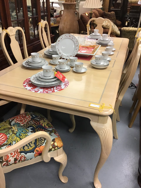 Dragon Print Dining Set