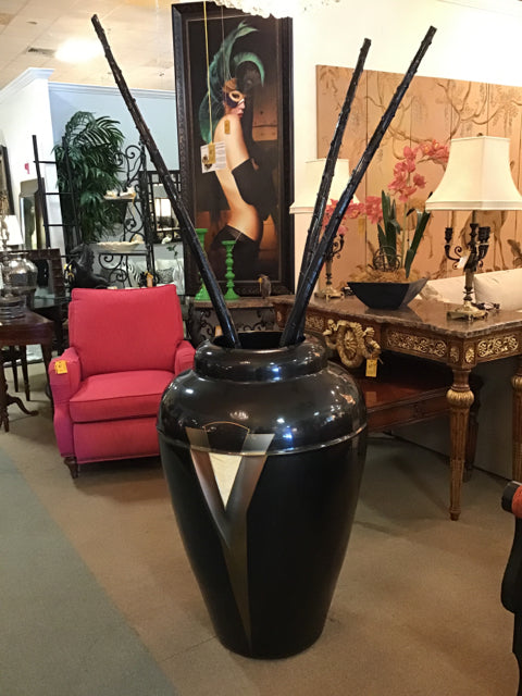 Extra Large Floor Vase with Sticks