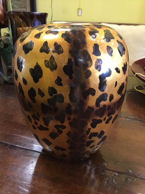 Hand Painted Spotted Vase