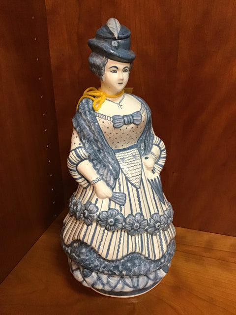 Porcelain Woman Figurine
