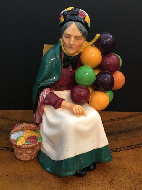 Royal Doulton Old Balloon Seller (2 available)