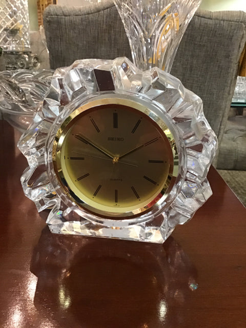 Seiko Glass Clock