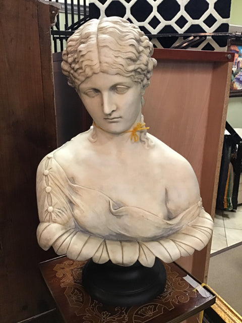 Traditional Woman Bust Statuary