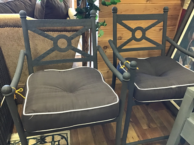 Pair of Hampton Bay Outdoor Patio Chairs