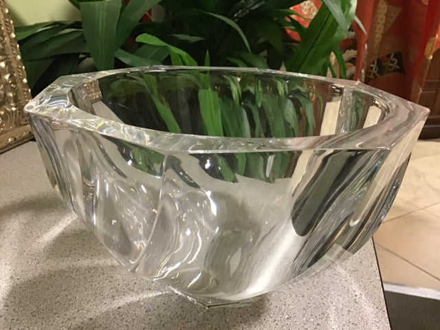 Orrefors Crystal Bowl Home Accents