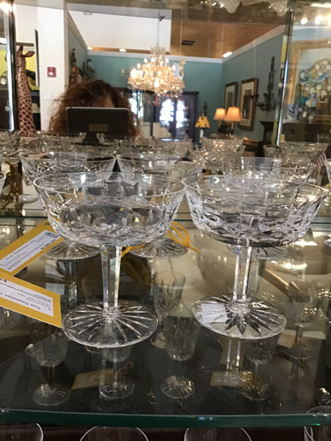 Waterford Champagne/Tall Sherbet Glasses