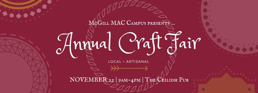 MAC Craft Fair 2017