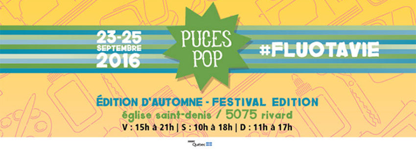 Puces Pop - FluoTaVie - Automne 2016
