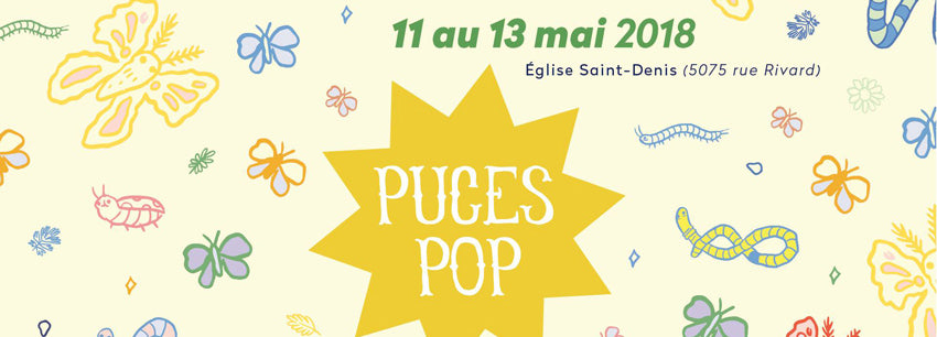 Puces Pop de Printemps 2018