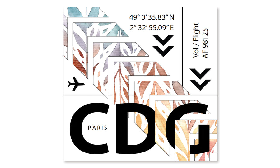Affiche - CDG - Aéroport de Paris