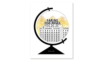 Affiche - Farine Five Roses