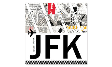 Affiche - JFK - Aéroport de New York City