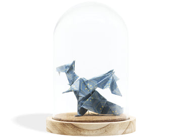 Cloche Origami - Dragon