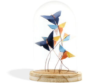 Cloche Origami - Papillons
