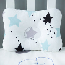 Load image into Gallery viewer, Baby Nest Safety Pillow - Black Star