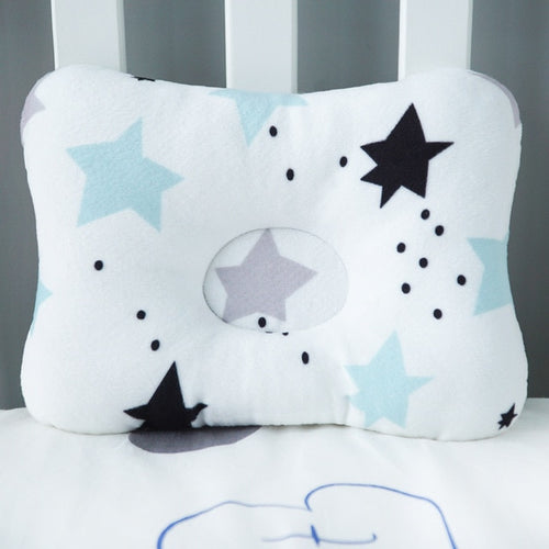 Baby Nest Safety Pillow - Black Star