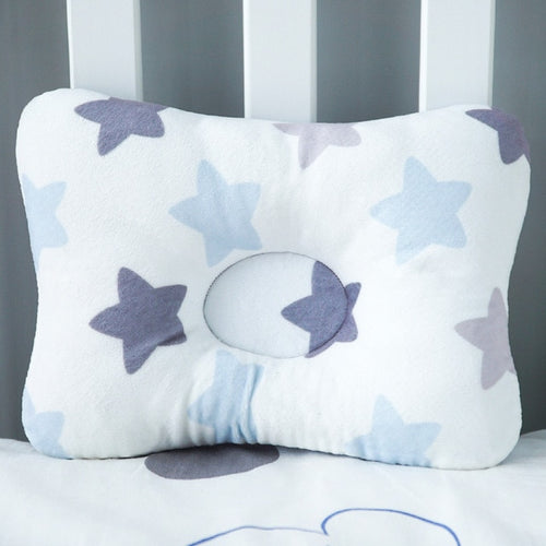 Baby Nest Safety Pillow - Grey Star