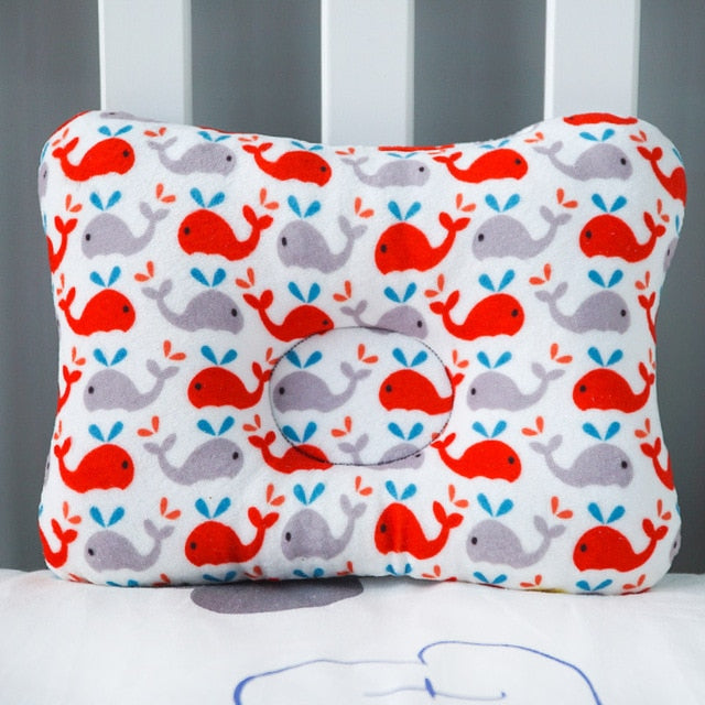 Baby Nest Safety Pillow - Little Whales